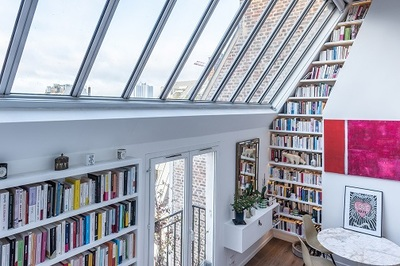 Những thư viện tại gia đốn tim hội mọt sách