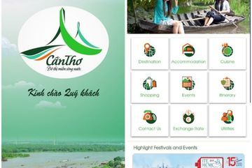 Can Tho launches tourism portal & app