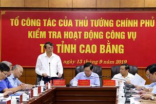 Chủ tịch Cao Bằng: Chưa phát hiện cán bộ dùng xe công vào việc tư