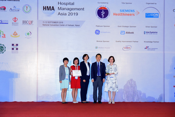 Vinmec được vinh danh 'bệnh viện tiến bộ nhất' và 'an toàn cho người bệnh'