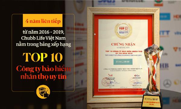 'Chìa khóa' giúp Chubb Life tạo vị thế trên thị trường bảo hiểm Việt Nam