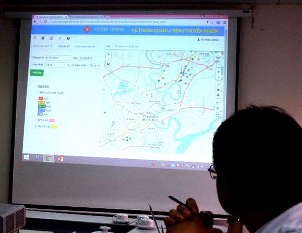 HCM City begins to integrate all administrative data into common-use digital map