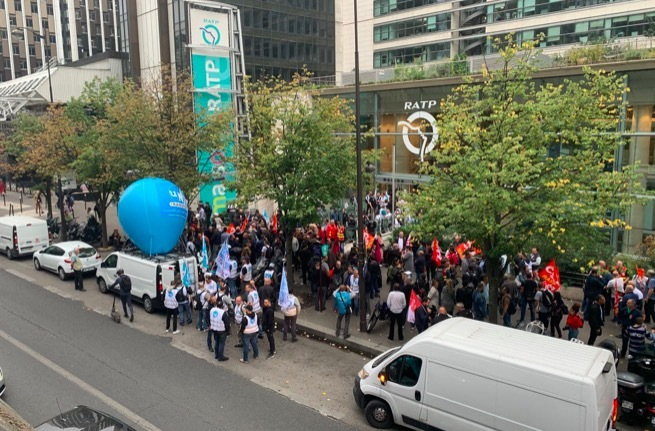 biểu tình,đình công,Pháp,Paris tê liệt