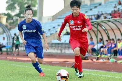 Vòng 8 giải nữ VĐQG: Hà Nam, TKS Việt Nam thắng đậm