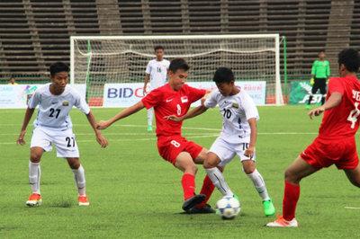 U16 Mông Cổ thắng tối thiểu U16 Macau