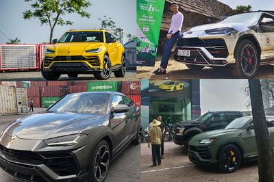 Lamborghini Urus 23 tỷ đủ màu sắc về Việt Nam phục vụ đại gia