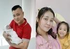 Vợ Tự Long xót con gái đầu ngủ phòng khách khi mẹ vừa sinh