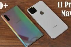 Những điểm trừ của iPhone 11 trong cuộc đua với Galaxy Note10