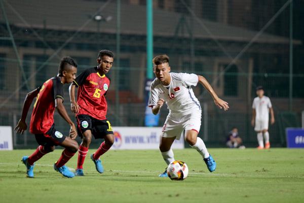 U16 Việt Nam ra quân thuận lợi ở vòng loại U16 châu Á