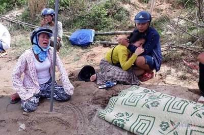 Thi thể bé gái 15 tháng tuổi nổi trên sông Thạch Hãn