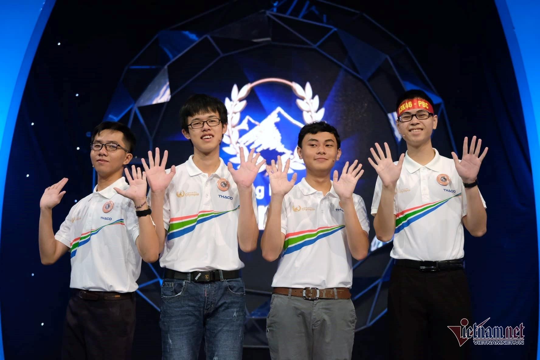 Trần Thế Trung vô địch chung kết Đường lên đỉnh Olympia 2019