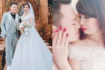 Kỉ niệm 1 năm lấy chồng trẻ, cô dâu 62 tuổi ở Cao Bằng chơi lớn chụp lại ảnh cưới, mở tiệc rình rang