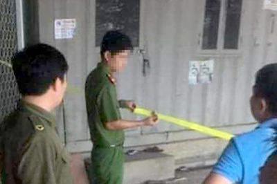 Nghi án chồng tẩm xăng đốt chết vợ rồi tự thiêu trong thùng container ở Hà Nội