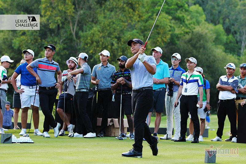 Park Sang Ho muốn 'đòi nợ' Trần Lê Duy Nhất ở giải golf 1,5 tỷ