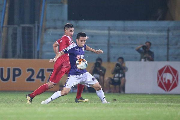 Hà Nội 2-2 Viettel: Trọng Hoàng ăn thẻ đỏ, Quang Hải ghi siêu phẩm (H2)