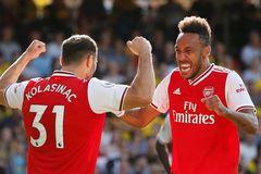 Watford 0-2 Arsenal: Aubameyang nổ cú đúp (H1)