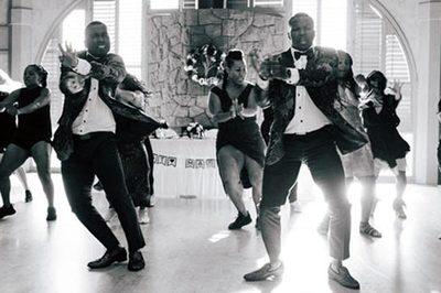Cặp đôi khiến quan khách phát cuồng vì điệu nhảy 'đỉnh của đỉnh' tại tiệc cưới