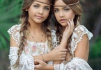 Cặp song sinh đẹp nhất thế giới: Mới 9 tuổi đã kiếm được hàng triệu đô la mỗi năm