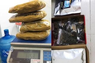 Bắt quả tang 2 sinh viên ở Đà Nẵng mua gần 1,5 kg cần sa qua mạng