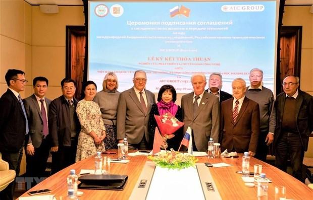 Vietnam's Advanced International JSC,technology transfer,vietnam-russia,IT news,sci-tech news,vietnamnet bridge,english news,Vietnam news