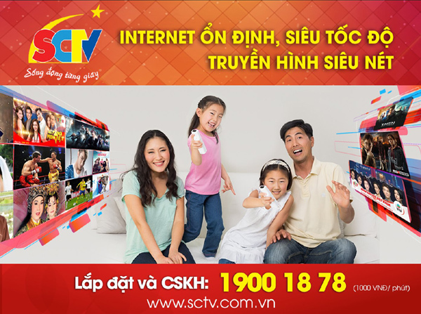 Truyền hình internet- nơi tận hưởng cuộc sống nhiều tiện ích