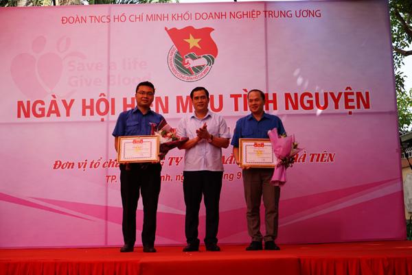 Vicem Hà Tiên tổ chức ngày hội hiến máu tình nguyện 2019
