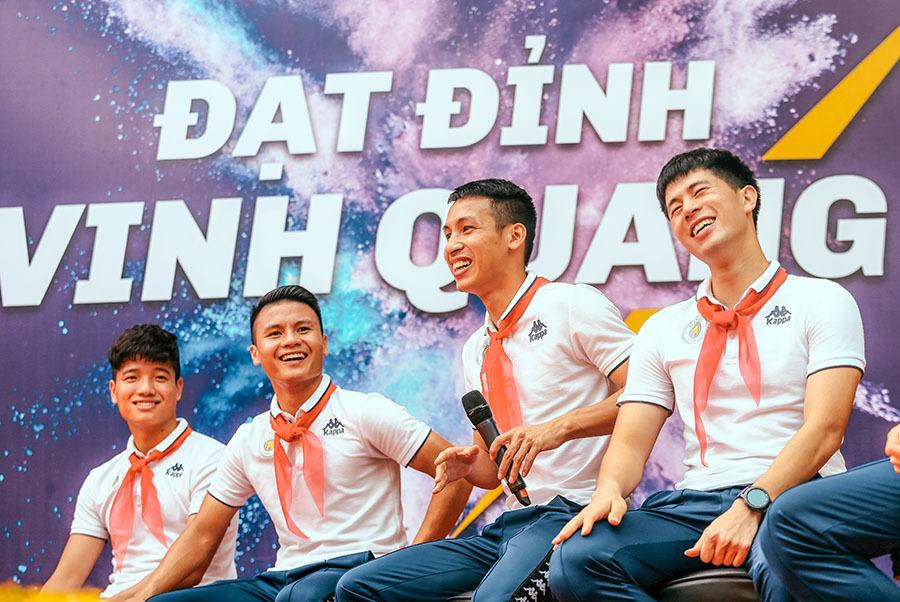 Hà Nội FC,Quang Hải,Đình Trọng,V-League