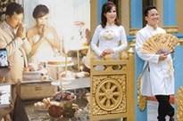 Hình ảnh cô dâu 62 ở Cao Bằng trong bữa tiệc rình rang kỉ niệm 1 năm ngày cưới chồng 27 tuổi