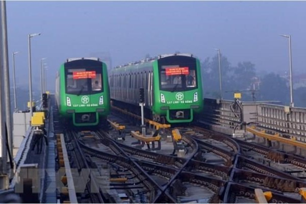 Cat Linh-Ha Dong metro line contractor asked to commit deadline