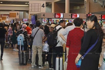 Thailand moves to ease congestion at Bangkok-based airport