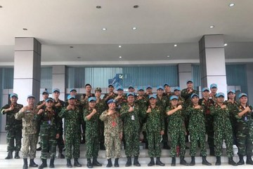 More peacekeepers embark on mission in South Sudan