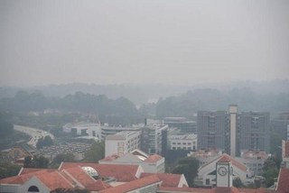 Singapore faces worst air quality in three years