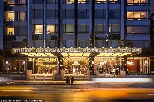 khách sạn,Donald Trumps,tổng thống Mỹ
