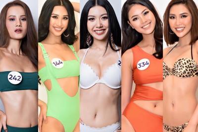 Những người đẹp nóng bỏng, thu hút nhất ở Hoa hậu Hoàn Vũ Việt Nam 2019