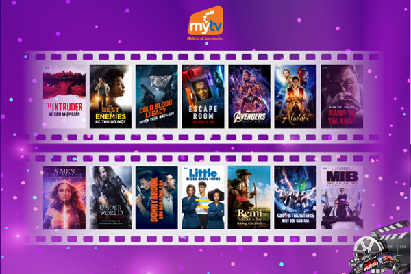 MyTV phát sóng miễn phí phim bom tấn chiếu rạp