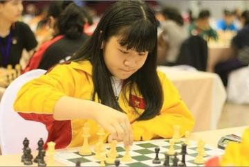 Vietnam's Nguyen Thien Ngan crowned world U14 rapid chess champion