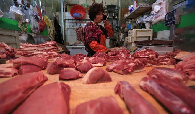 chiến tranh thương mại,thịt lợn,giá thịt lợn,Trung Quốc