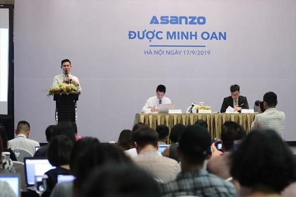 389 chưa có báo cáo, Asanzo công bố kết luận Hải quan, QLTT và VCCI