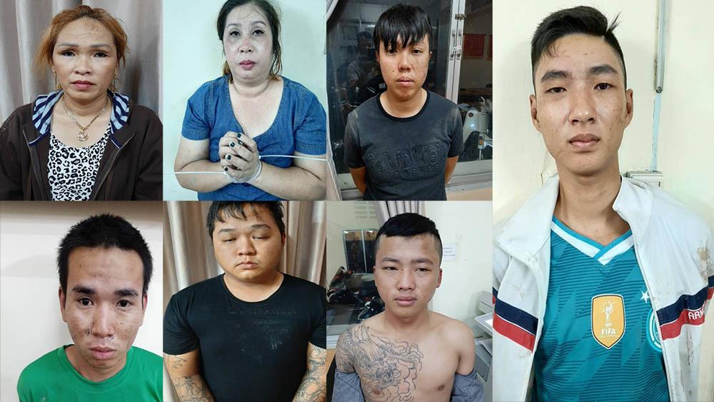 Trộm cắp tài sản,Mua bán dâm,vụ án bán dâm