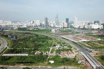 Sắp công bố ranh 5 khu phố thuộc 3 phường tại Thủ Thiêm