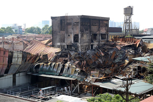 Removal of factories from inner city needed after factory fire