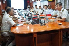India, Thailand, Singapore hold first maritime exercise