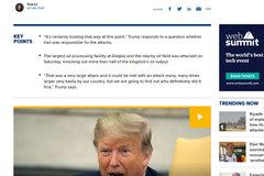 Sau cú sốc chưa từng có, Donald Trump nói ra sự thật