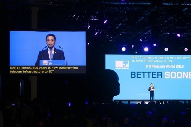 ITU Telecom World 2020,minister nguyen manh hung,ITU,International Telecommunication Union,Telecom World 2020IT news,sci-tech news