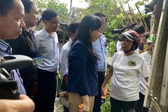 Bộ trưởng Nguyễn Thị Kim Tiến thị sát điểm 'nóng' dịch sốt xuất huyết ở Đà Nẵng