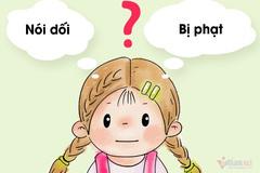 7 sai lầm khiến một đứa trẻ nói dối