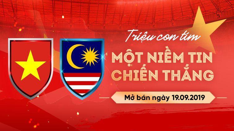 Chi tiết cách mua vé trận Việt Nam vs Malaysia, vòng loại 2 World Cup 2022