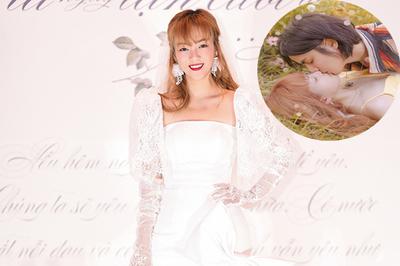 Đinh Hương khóa môi say đắm mỹ nam Thái Lan trong MV mới