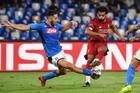 Napoli 0-0 Liverpool: Salah suýt lập công (H2)