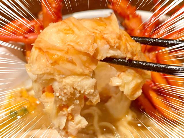 Món mỳ tôm hùm 'sang chảnh' nhưng có giá bình dân 200.000 đồng/bát